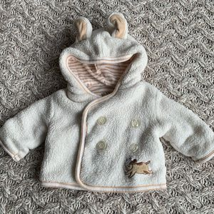 Bunnies By the Bay- 0/3 month lined spring jacket